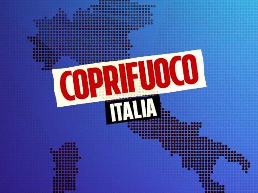 Italia: Coprifuoco, ipotesimezzanotte