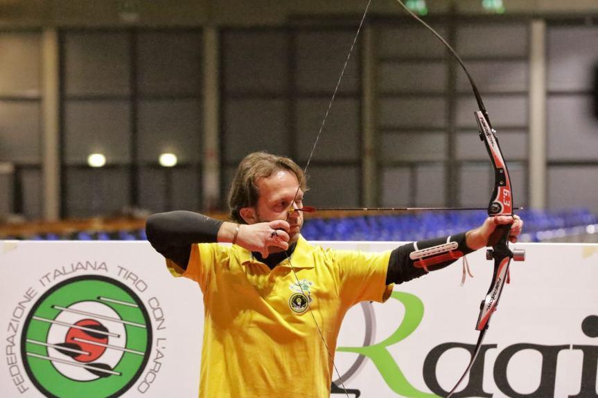 Provincia di Siena: Fabio Bibiani campione italiano indoor di tiro conl'arco