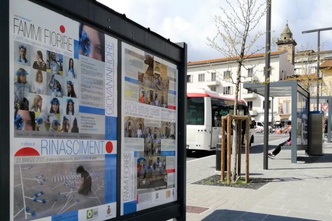"""Provincia di Siena, Con """"Rinascimento: Giovani in fiore"""" si completa a Poggibonsi l'installazione di """"Fammifiorire'"""