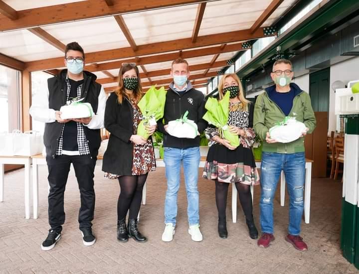 Palio di Legnano, Contrada San Domenico: La Reggenza augura BuonaPasqua
