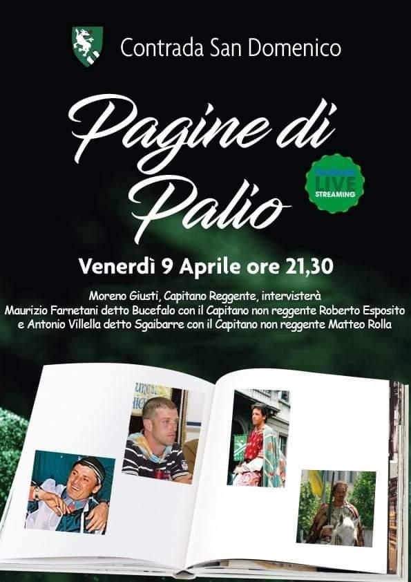 """Palio di Legnano, Contrada San Domenico: 09/04 Nona puntata di """"Pagine diPalio"""""""