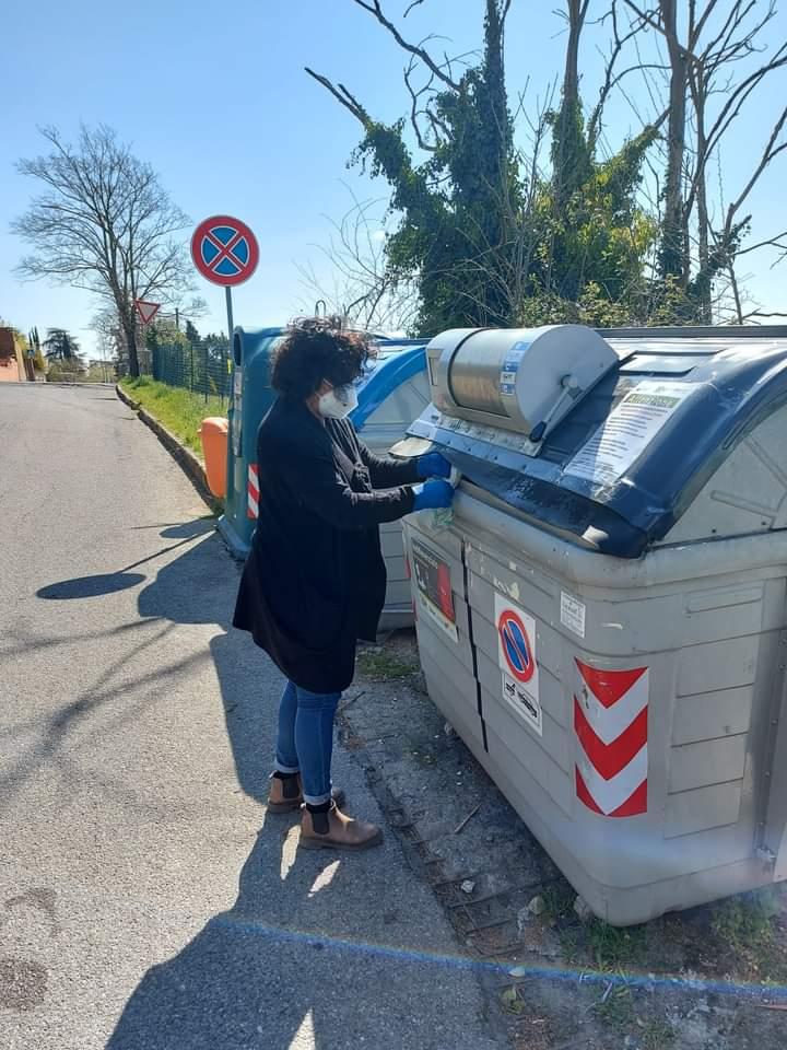 Siena: Sopralluoghi della squadra ambiente del Comune alle isoleecologiche