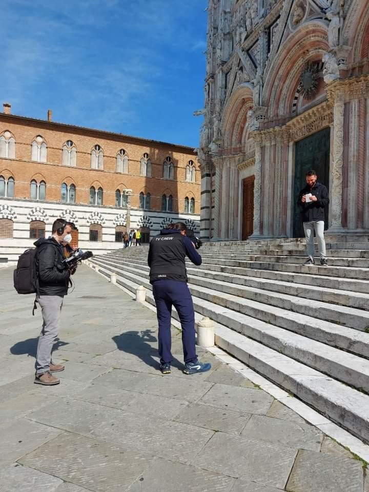 Siena: Oggi 22/04 nella nostra città le telecamere di SkySport