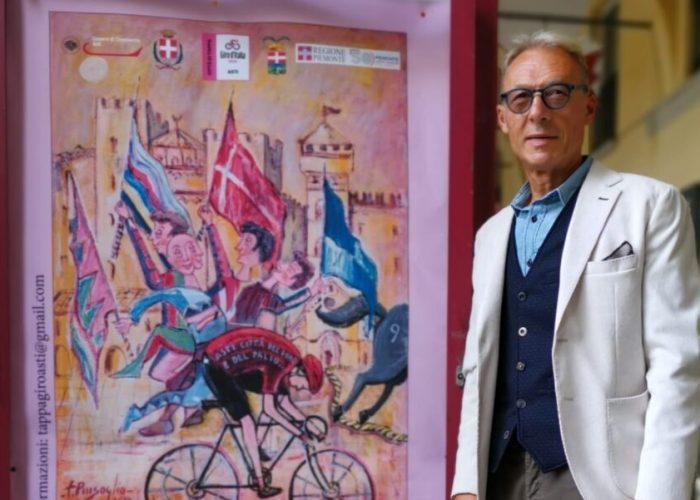 Palio di Asti, Filippo Pinsoglio: «I miei saranno Drappi ricchi di colore esperanza»