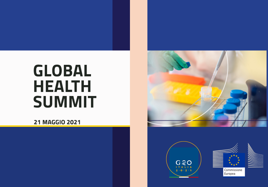 Italia: Global Health Summit del21/05