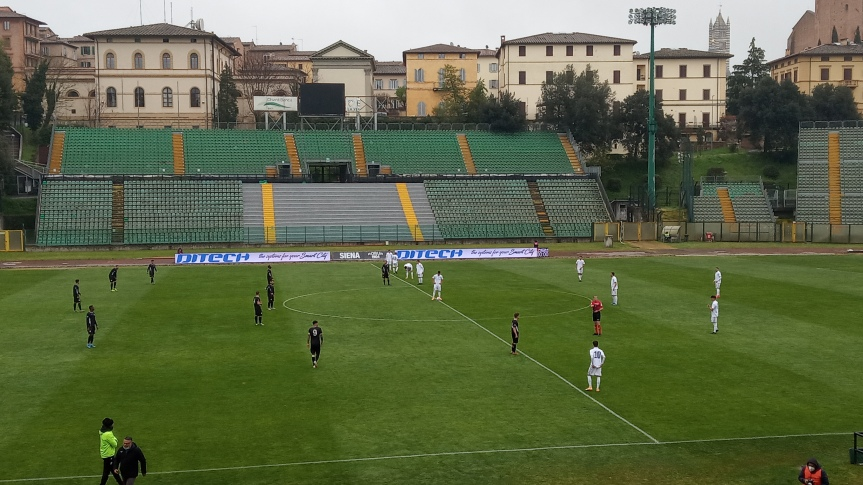 Siena, Acn Siena: Oggi 11/04 i bianconeri tornano in campo con un rotondo 2-0 sulCannara