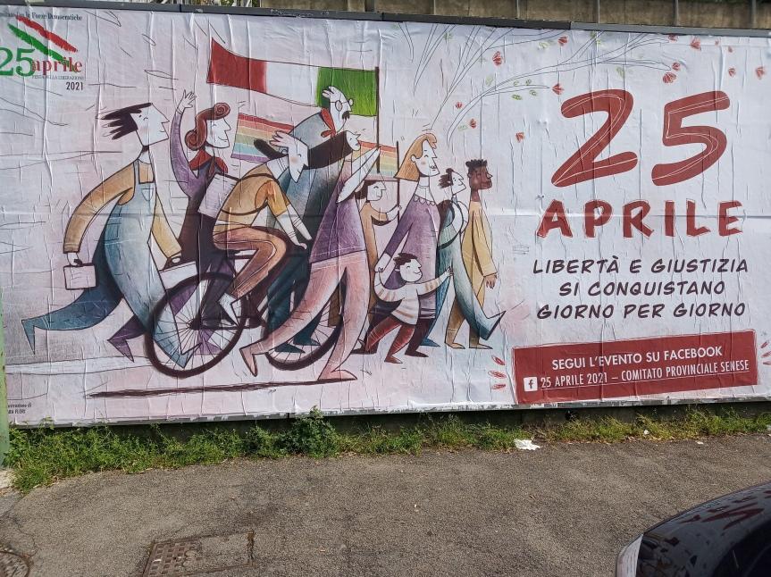 Siena: Il Partito Comunista celebra il 25Aprile