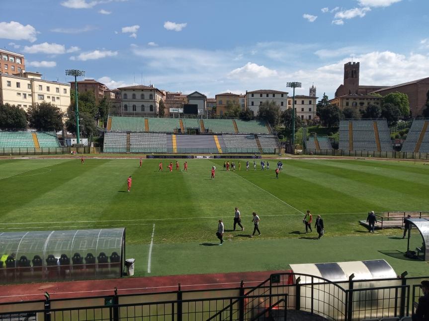 Siena, Acn Siena: Oggi 25/04 Il Siena trionfa anche oggi, Siena-Sangiovannese 1-0