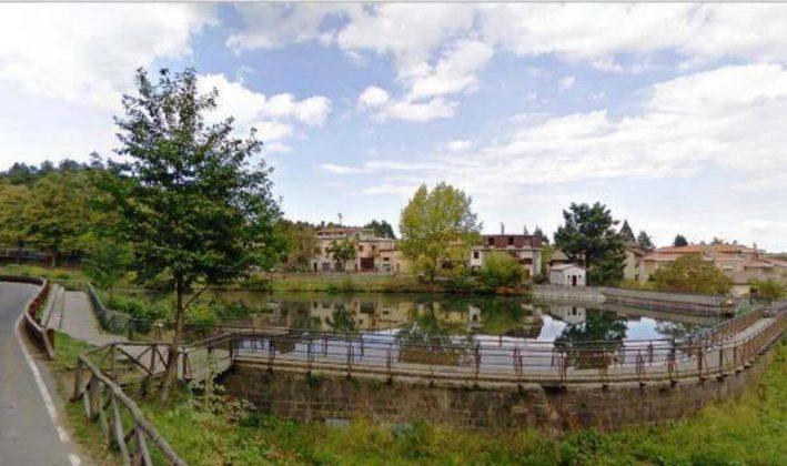Provincia di Siena, Abbadia San Salvatore: Riqualificazione e bonifica del laghetto delMuraglione