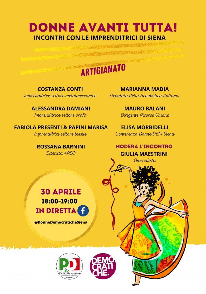 Siena: Conferenza delle democratiche, nuovo incontro sul tema dellavoro