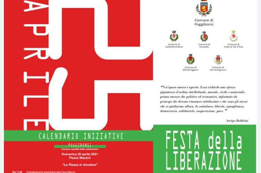 Provincia di Siena: Poggibonsi celebra il 25aprile