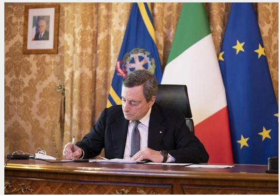 Italia: Dichiarazione del Presidente del Consiglio Mario Draghi sulla missione di assistenza sanitaria inIndia