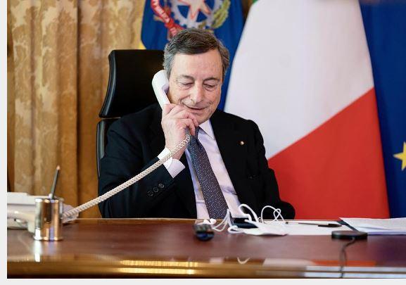 Italia: Conversazione telefonica Draghi –Bennett