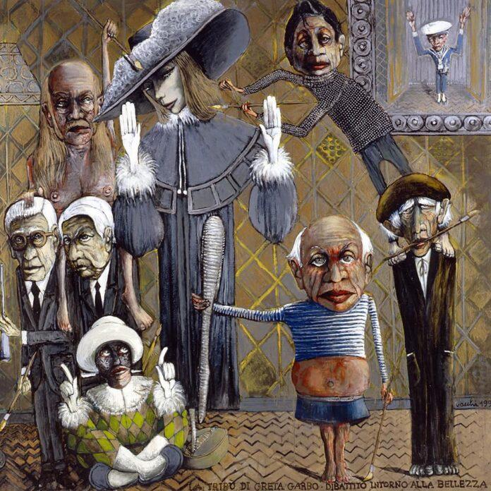 Siena: Cinque opere d'arte del maestro Sergio Vacchi sono state donate al Comune diSiena