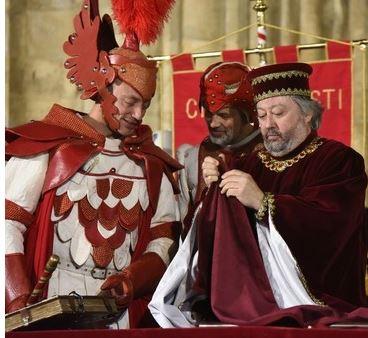 Palio di Asti: Sabato 1 maggio, a Palazzo Ottolenghi, la Stima dei Palii dipinti dal maestro FilippoPinsoglio