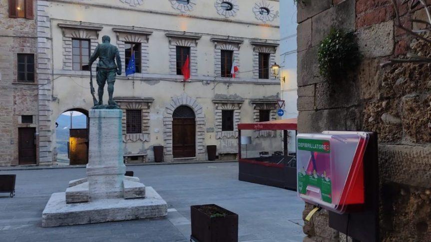 Provincia di Siena, Radicondoli e Belforte cardioprotette: Presto un totale di 7 defibrillatori fissi in aggiunta a quellimobili