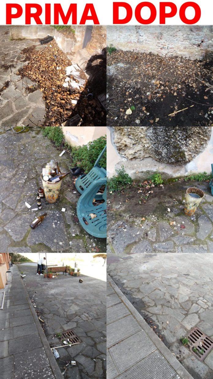Siena: I ragazzi dell'Oca ripuliscono i Macelli diFontebranda