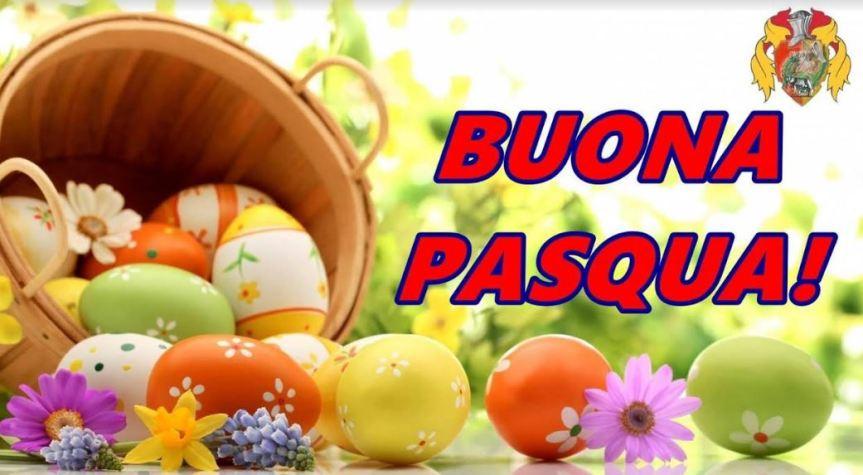 Palio di Castiglion Fiorentino, Rione Porta Rmana: Il Rione augura BuonaPasqua
