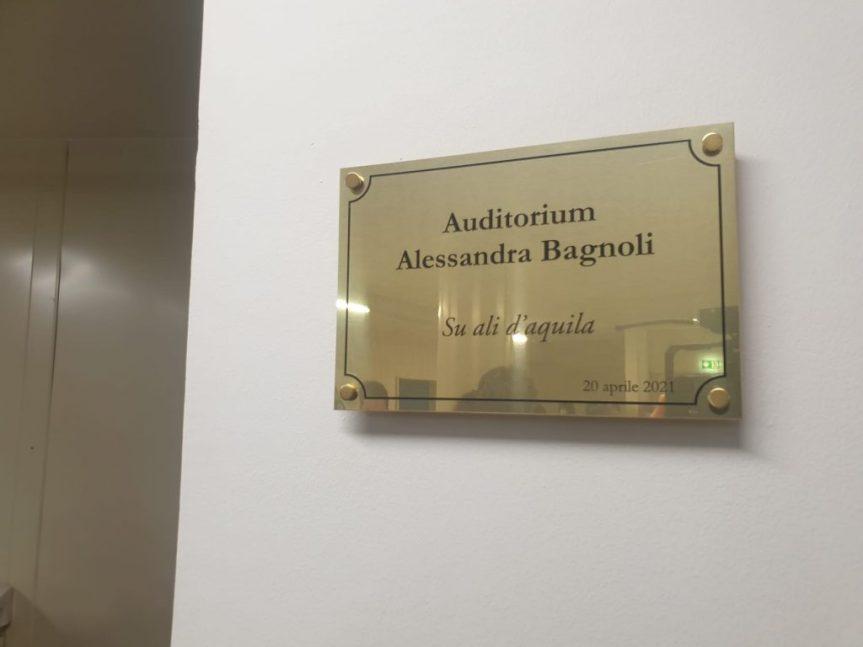 """Siena: Oggi 20/04 Inaugurata la sala """"Alessandra Bagnoli"""" nella sede della Asl Toscana Sudest"""