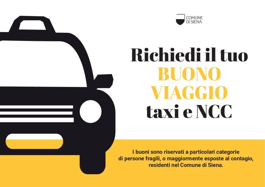 Siena: Richiedi il tuo Bonus viaggio Taxi encc
