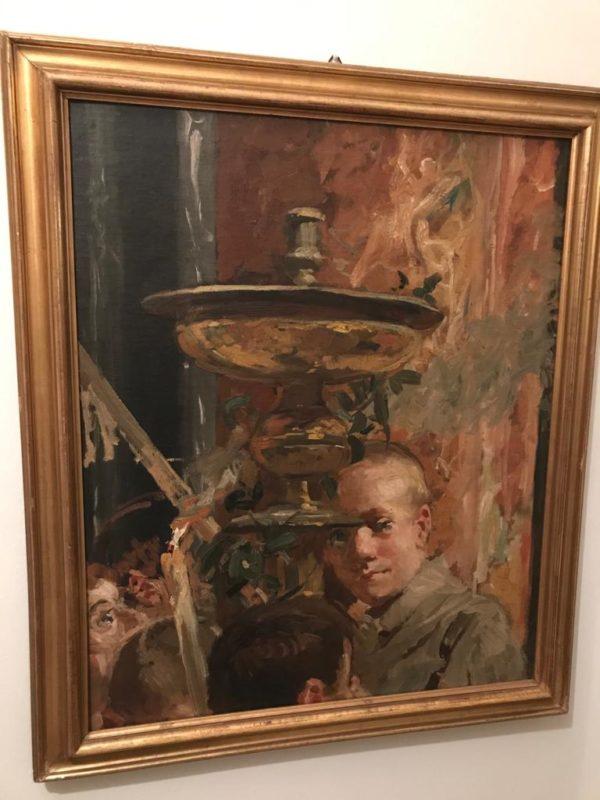 Siena: Torna dipinto di Arturo Viligiardi. In arrivo una mostra sul purismosenese?