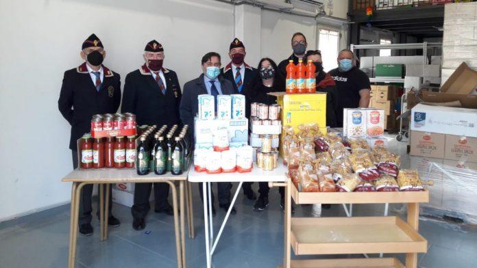 Siena: Covid, la donazione della Polizia di Stato allaCaritas