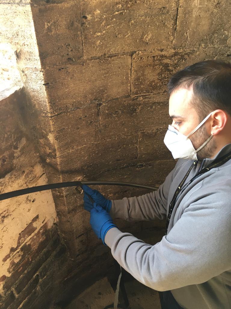Siena: Il Duomo si prepara a riaprire, installata una membranaanti-Covid