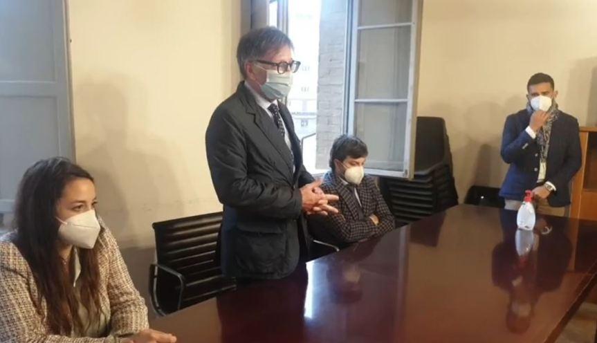 Siena: Oggi 20/04  Diretta Live intitolazione a Alessandra Bagnoli della  Sala di Maggioranza di PalazzoBerlinghieri