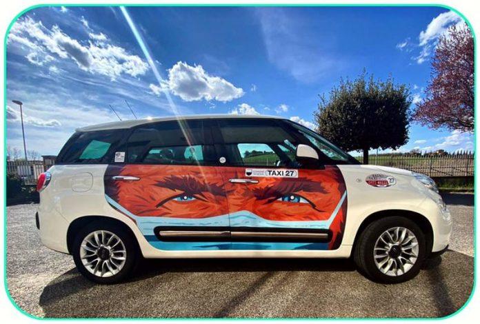 "Siena, ""Taxi 27"": Quando un taxi diventa un'operad'arte"