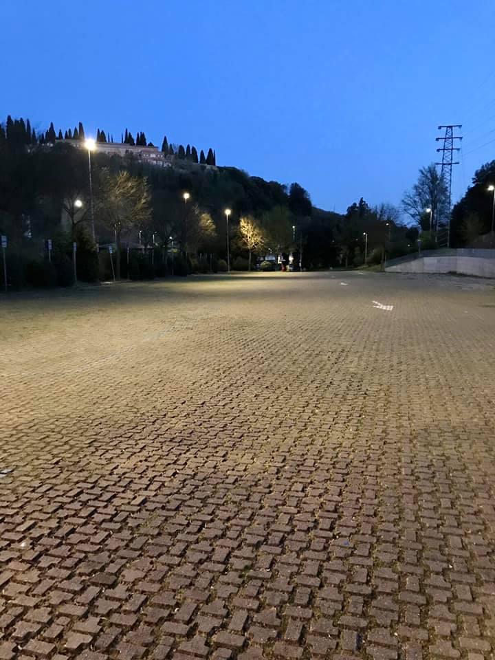 Siena: Parcheggio Fagiolone, terminato il rifacimento dell'illuminazione