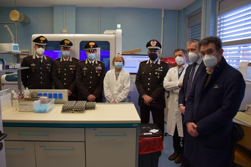 Siena, Lotta al Covid: Visita istituzionale dell'Arma dei carabinieri per conoscere da vicino i professionisti impegnati in primalinea