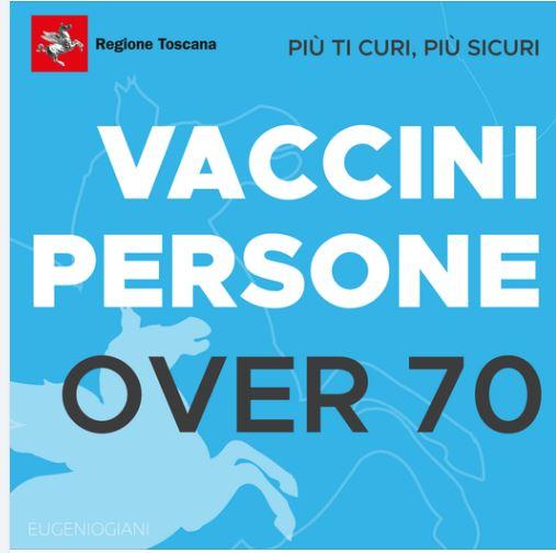 Toscana, Vaccino over70, cambia la modalità di prenotazione: Portale sempre aperto fino al 7giugno