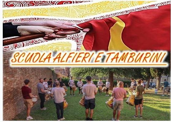 Siena, Contrada del Valdimontone: Scuola Alfieri e Tamburini2021
