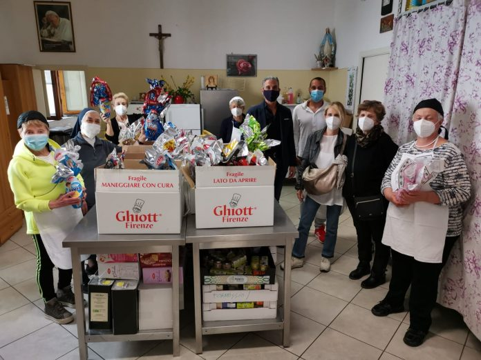 Siena: Uova di solidarietà, oltre 100 quelle donate dalla Pantera allaCaritas