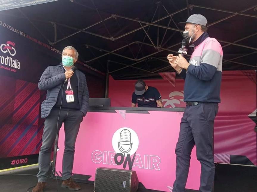 Siena: L'assessore Tirelli  in onda con… il Giro on Air… per promuovere Siena e il suoterritorio