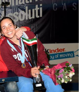 Siena: Alice Volpi campionessa italiana di fioretto per la terza voltaconsecutiva