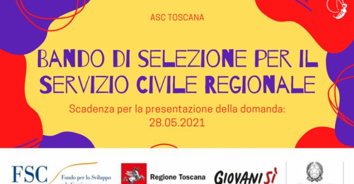 Toscana: Aperte le candidature per il servizio civileregionaleper