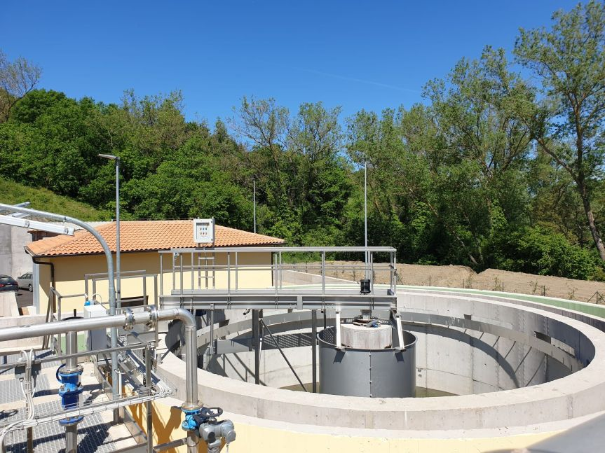 Toscana, Adf: La seconda vita dell'acqua, si alza il sipario sul nuovo depuratore perArcidosso