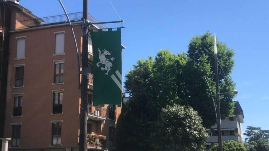 Palio di Legnano: Riecco a Legnano le bandiere del Palio, la sabbia?Forse…