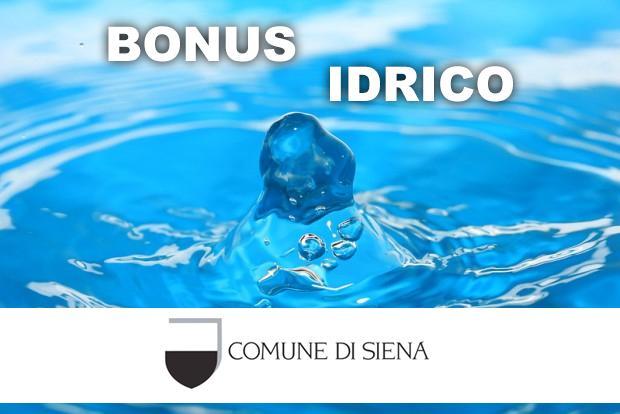 Siena: Prorogato anche per il 2021 il bonus sociale idrico integrativo per le famiglie indifficoltà