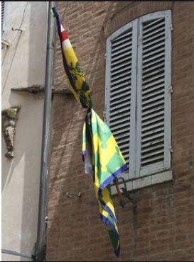 """Siena, Bruco, il rettore Morelli: """"Bandiera a lutto per Brio, scelta dicuore"""""""