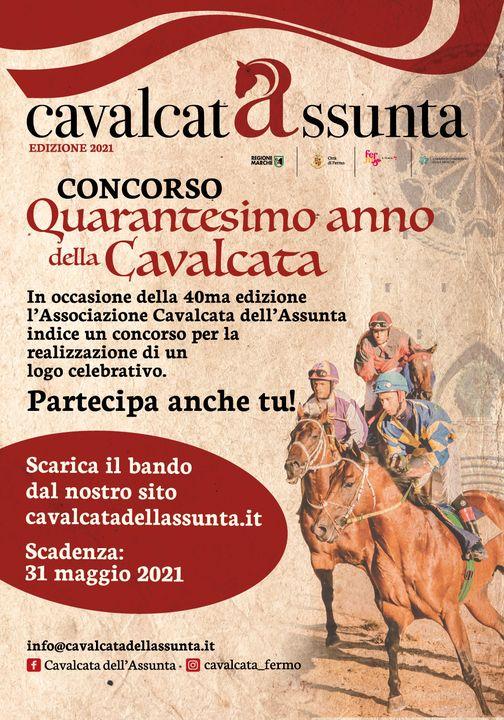 Cavalcata dell'Assunta Fermo: Crea il logo celebrativo della 40^ Edizionedella Cavalcata dell'Assunta