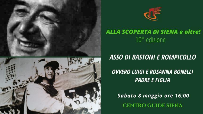 """Palio di Siena, Centro Guide  Siena: Oggi 08/05 Tour dedicato ad """"Asso di Batoni"""" e """"Rompicollo"""""""