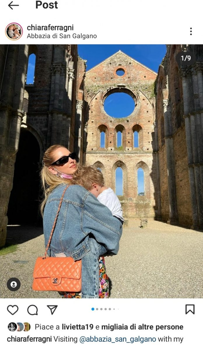 provincia di Siena, Continua la vacanza in terre di Siena dei Ferragnez: Le foto a SanGalgano