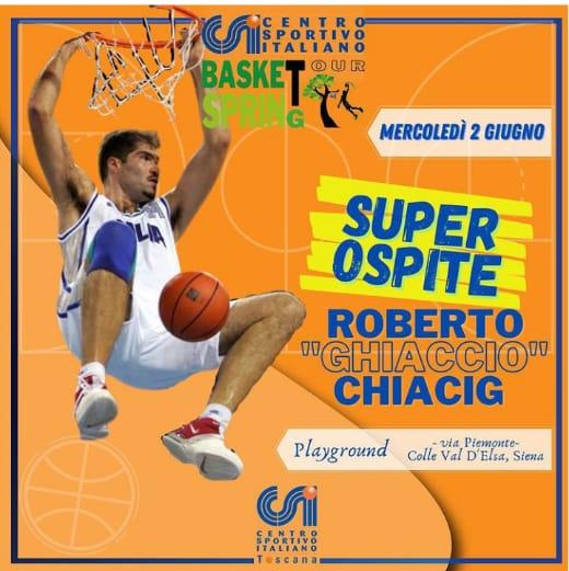 Siena, Torneo di Basket a Colle Val d'Elsa, Csi Siena rilancia le attività sportive: Ci saràChiacig