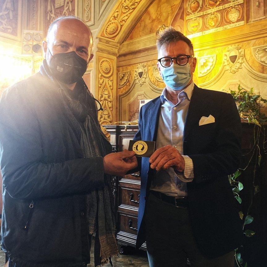 Siena; Il Sindaco Luigi De Mossi diviene membro dell'Asscoazione ArturoPratelli