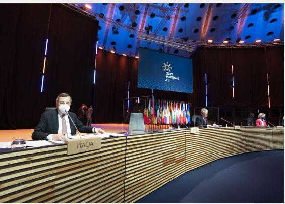 Italia: Oggi 08/05 il Presidente Draghi partecipa ai lavori della Riunione informale dei Capi di Stato e di Governo e, a seguire, alla videoconferenza del VerticeUE-India