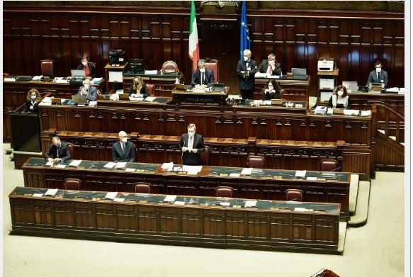 Italia: Question time del Presidente Draghi alla Camera deiDeputati