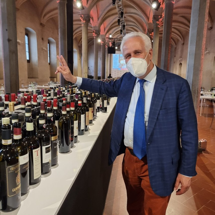 Toscana: Eugenio Giani presente alla settimana del vino promossa dallaRegione
