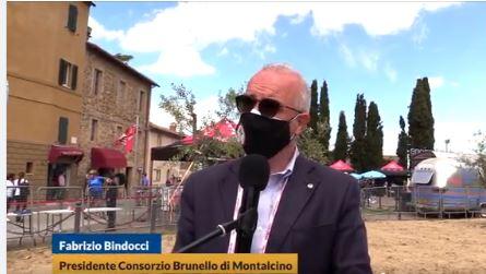 Provincia di Siena: Oggi 19/05 Giro d'Italia a Montalcino, le parole i Fabrizio Bindocci, presidente del Consorzio del Vino Brunello diMontalcino